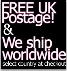 Free UK postage & Great international rates!